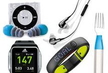 Gym Gadgets / Goodies to guide you.