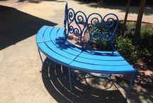 Allied Arts Guild, Menlo Park / Garden in Menlo Park. Aida Dalati Atelier. 75 Arbor Road. Allied Arts Guild. Menlo Park California 94025