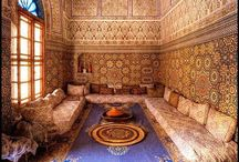 Arabic rooms for her. / Arabic interior design and space decoration