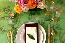 Plates & Table Tops / Elegant is an every day thing