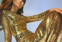 Liquid textiles and FashionDesign / Silver & Gold