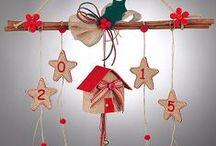 Χριστουγεννιάτικα διακοσμητικά από λινάτσα Christmas Decorations Burlap