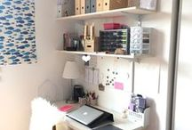 Lieu où l'on crée, réfléchit, travaille ! / craftroom, workspace