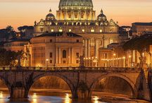 Point of view / Places of the word and Rome...