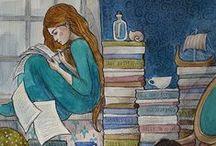 Leer y escribir / Infografías sobre el arte de leer y escribir.