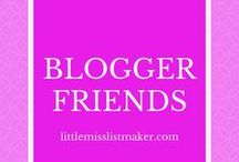 Blogger Friends / Free for all board from my blogger friends