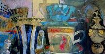 Anne Cirkola / interior painting, art, contemporary