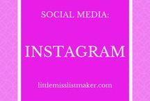 Social Media: Instagram / Pins that focus on tips and tricks for Instagram