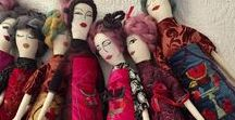Aida and Tulip. Modern Syrian Folk Art Dolls / Art Collection of Modern Syrian Folk Art and Dolls to celebrate Syrian women heritage and support Syrian refugees in America. Volunteers to help embroider are welcome. www.AidaandTulip.com