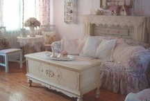 shabby chic homes / by karen ziegler