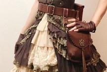 Steampunk Fashion / The sci-fi punk future of costume.
