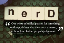Nerdcore & Geekdom / All the things that make me nerdy and uber geeky.