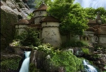 Kingdoms of The Wood / Villages, castles and cottages of The Wood.