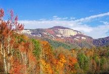 Get Out: Enjoy the Scenery / Nestled in the foothills of the Blue Ridge Mountains, Greenville boasts a temperate climate that makes it possible to enjoy the city's scenic surroundings and outdoor activities year-round.