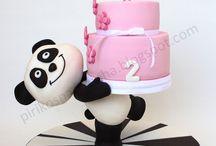 Bolos de Aniversário de tenra idade / As nossas criações para os mais pequenitos!