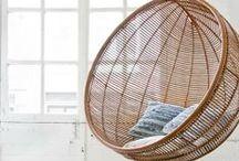 ★ NATURAL LIVING / scandinavian style - white & grey & wood