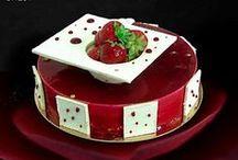 Inspiration entremets, tartes, choux, desserts à l'assiette... / Entremets, bûches, tartes, choux, desserts à l'assiette...