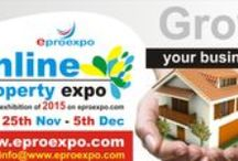 Eproexpo / Eproexpo is an Online Exhibition provides uniquely effective stages for promoting your Exhibitions online through virtual reality. Online Exhibitions enables the whole world to experience of work through click drag and explore.Strategically marked points on a Ground plan of the exhibition enable the audience to navigate to different locations in the gallery. One can click on any number of exhibits at the same time for a close comparison.