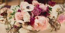 Marsala, Blush and Navy / These are the new wedding colors ;)