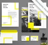 Stationery Template / Stationery Template board consist of stationery templates for business, project proposal, branding kit, or any occassion.