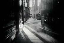 """Shadows in the dark / """"There is no such thing as darkness, only the absence of light"""" - Albert Einstein"""