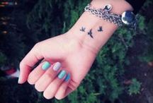 Cool tattos / by Colette Viaud