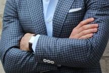 """Pocket Square Revival / The pocket Square has always been considered more formal whether worn with a tuxedo or a suit, it has been the little detail that finishes the look. That has changed. The Pocket Square is enjoying a revival, polishing off a more casual look alongside the finished formal """"with a tie"""" dress. No matter how you want to wear it, it can be done well. And any of these looks make a great match to DB shoes of all types."""
