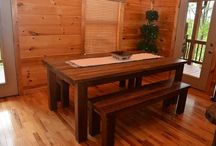 Farm Tables / Farm Tables created/designed by Gleman & Sons (Oviedo, Fl) from Reclaimed & Antique wood
