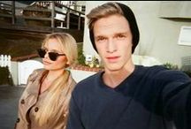 Alli and Cody Simpson / The talented Simpsons