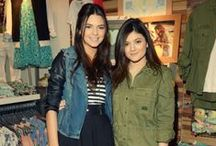 Kylie and Kendall Jenner's style
