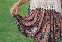CLOTHES AND FASHION / Pretty clothing that inspires me