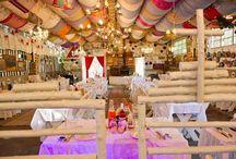 Weddings @ JanHarmsgat se Agterplaas / Wedding Venue Cullinan, Gauteng. Unique barnyard style. www.janharmsgat.co.za