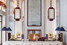 Divine interiors / Interiors that I love - interiors that suit collectors - of books, art, music, objet d'art...