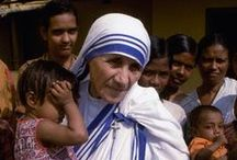 "Mother Teresa of Calcuta / "" Keep the joy of loving the poor and share this joy with all you meet. Remember works of love are works of Peace. God Bless you.""    -  Mother Teresa"