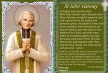 St. John Marie Vianney / Patron Saint of all Priests.