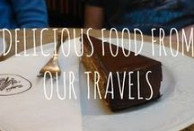 Delicious Food From Our Travels / We love food (no surprise there!) This is a collection of some of the best we have eaten - both in London and the rest of the world. Enjoy...