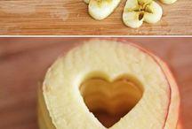 Yemek / Sevgi dolu elmalar