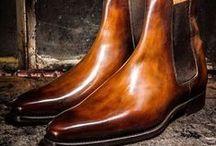 Stivali / Scarpe Artigianali di Lusso per Uomo