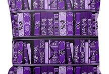 Purple! / Our corporate color also happens to be our favorite color.