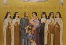Louis Martin & Zelie Guerin / Pasangan suami - istri pertama dalam sejarah Gereja yang diangkat menjadi kudus.Orang tua St.Thérèse dari Lisieux. Dibeatifikasi di Lisieux pada tanggal 19 Oktober 2008.Dikanosiasi / digelar kudus oleh Paus Fransiskus pada 18 Oktober 2015.