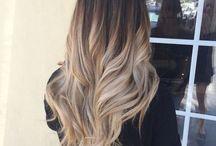 •Hair• / Ombré/blonde/blue/pink/purple