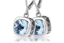 Sara Blaine Rhapsody Collection / The Rhapsody Collection, designed by Sara Blaine is all sterling silver with semi-precious gemstones.