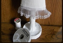 Recycle Crafts / It's hard for me to throw anything away.  There must be SOMETHING I can make with it!