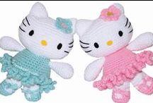 Crochet Dolls, Stuffed Animals & Toys / Not just for kids ya know!