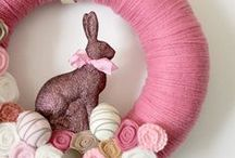 Happy Easter! / collected variety of Easter crafts, holiday decor, and recipes