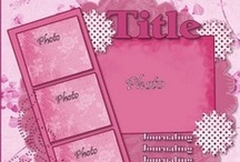 Scrapbook Layouts / Start with a basic plan, then move on to choosing papers and all the creative embellishments!