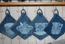 Blue Jean Baby / Recycle.. Upcycle..  Take those old blue jeans and make something new!