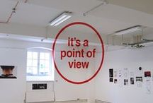 Anamorphosis / Not a trick of the eye, but a point of view
