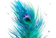 Ink n Color / watercolor paintings