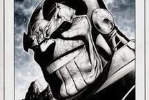 Marvel Comics Art